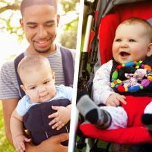 La poussette et le porte bébé sont les deux moyens plus utilisés et chacun  apporte des avantages et des inconvénients. Dès la naissance jusqu à environ  ... 0437d49e5b2