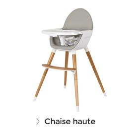 Soldes chaise haute