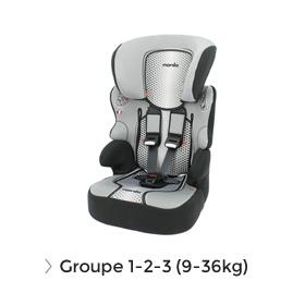 Soldes siège auto groupe 1 2 3 (9-36kg)