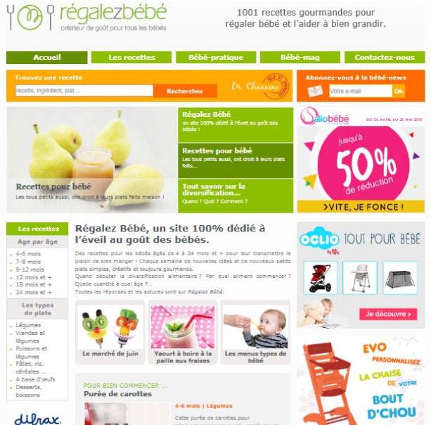 Site Régalez Bébé