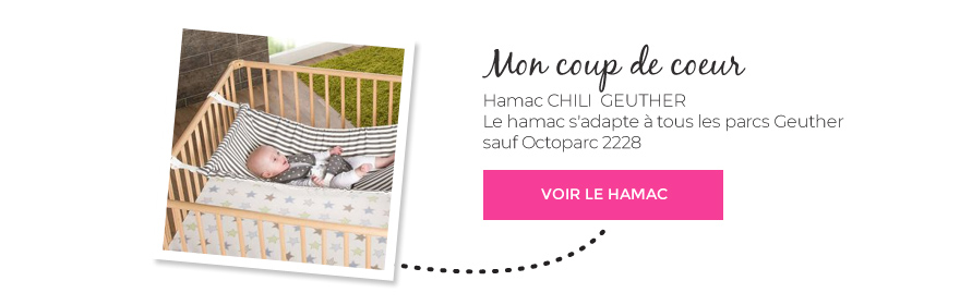 Soldes hamac CHILI parc Geuther