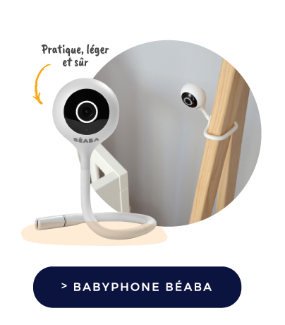 BABYPHONE beaba VIDÉO ZEN CONNECT