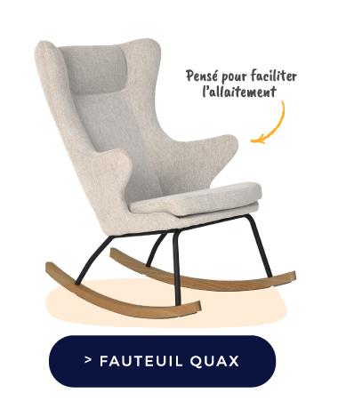 Quax FAUTEUIL D'ALLAITEMENT ROCKING