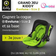 Grand jeu kiddy evoluna I-size
