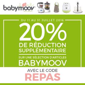 Code Repas Babymoov