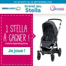 1 poussette Stella