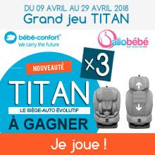 Jeu Bébé Confort Titan