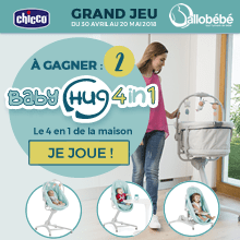 Grand jeu Chicco babyhug 4 in 1