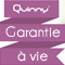 Garantie à vie quinny*