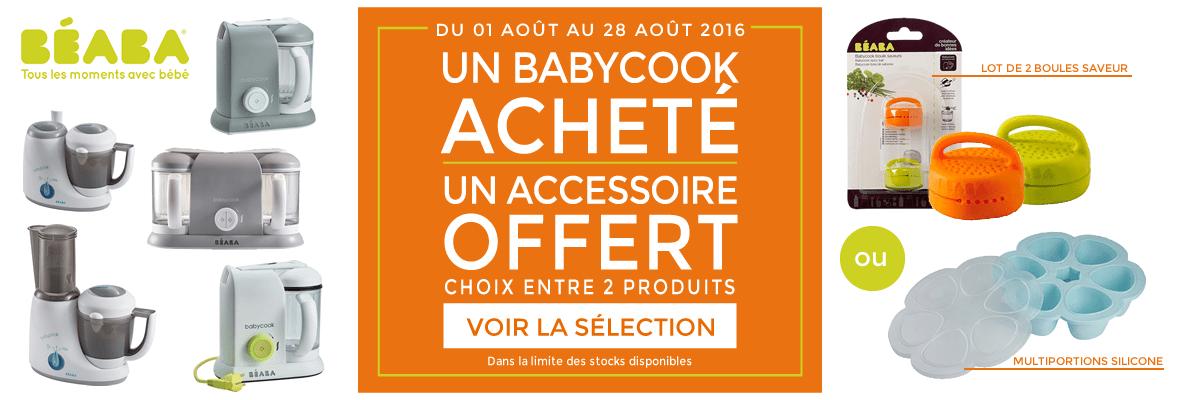 Un accessoire Babycook offert !