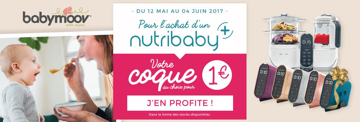 1 coque Nutribaby plus à 1€ !