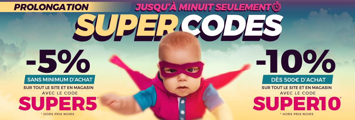 Code SUPER5