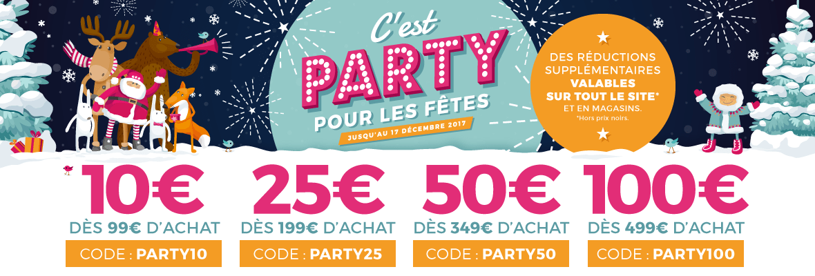 Code PARTY10