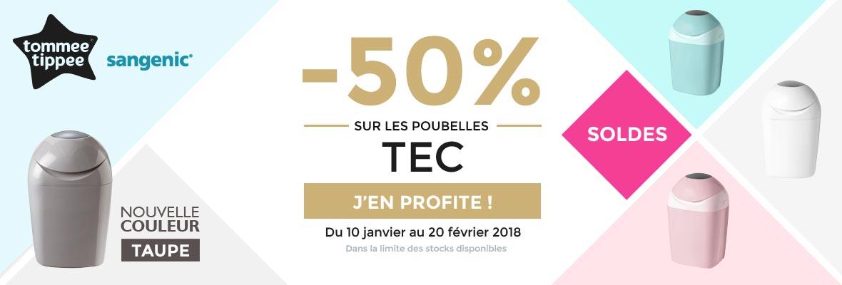 La Tec à -50% !