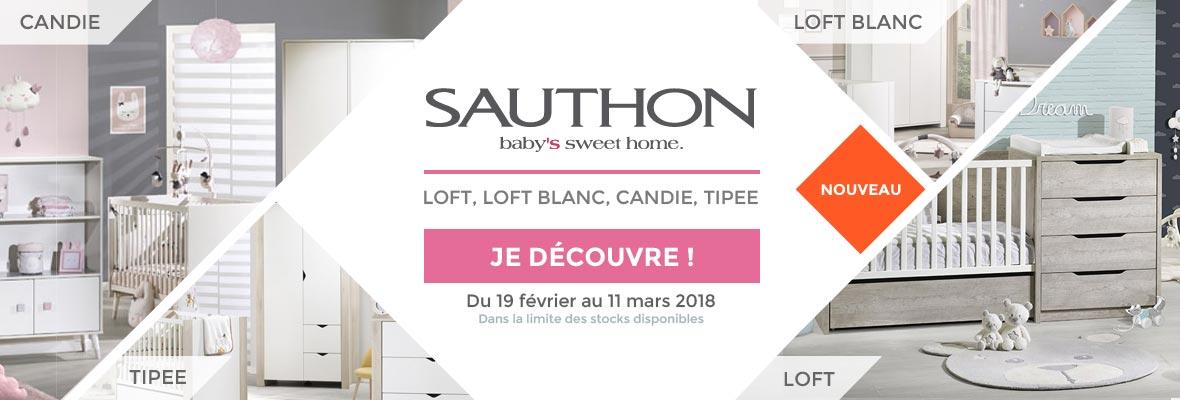 Nouvelles chambres chez Sauthon !