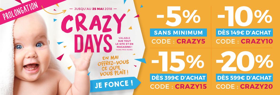 Code CRAZY5