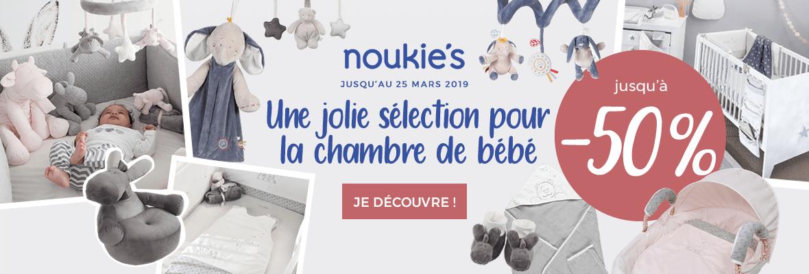Jusqu'à -50% sur les thèmes Noukies !