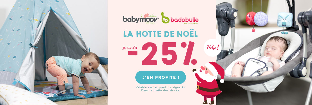La hotte de Noel Babymoov Badabulle !