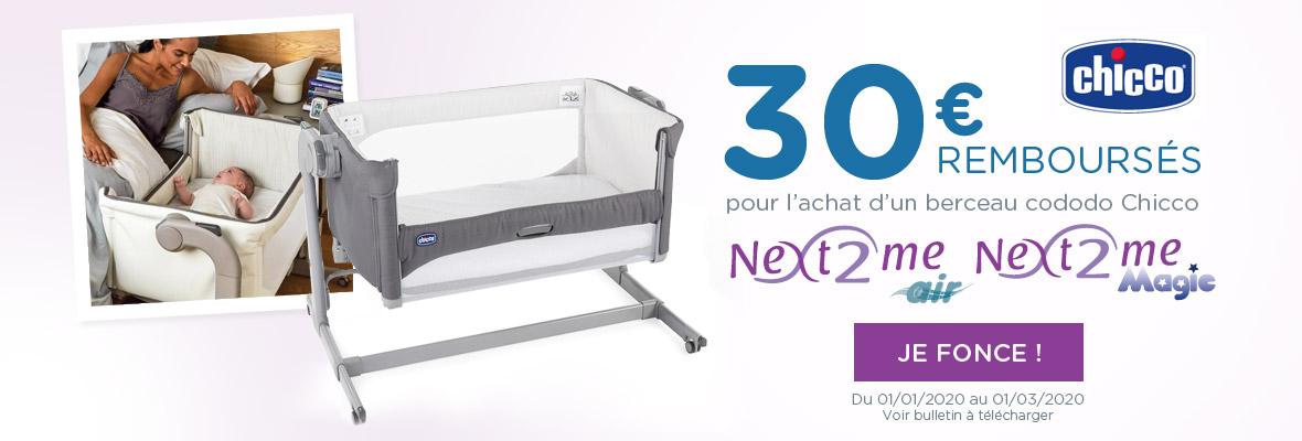 30€ remboursés sur un Next2Me !