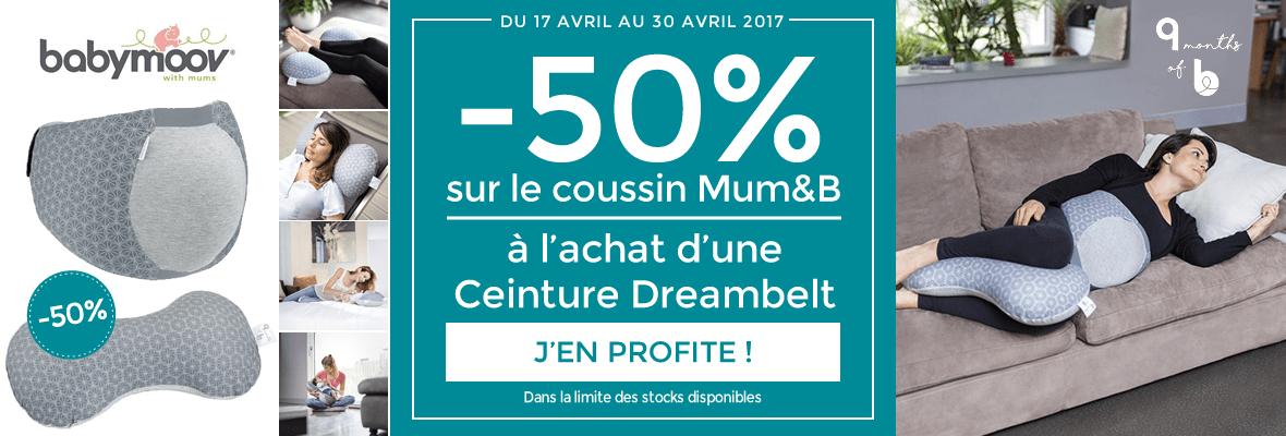 Le coussin Mum & B à -50% !