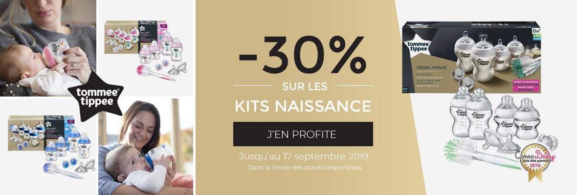 30% sur les kits naissance !