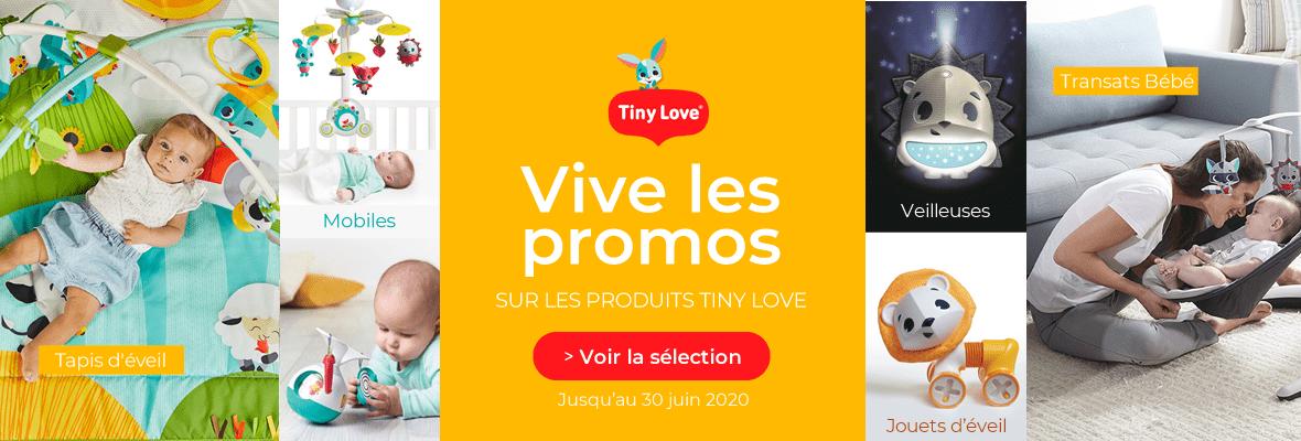 Promos chez Tiny Love !