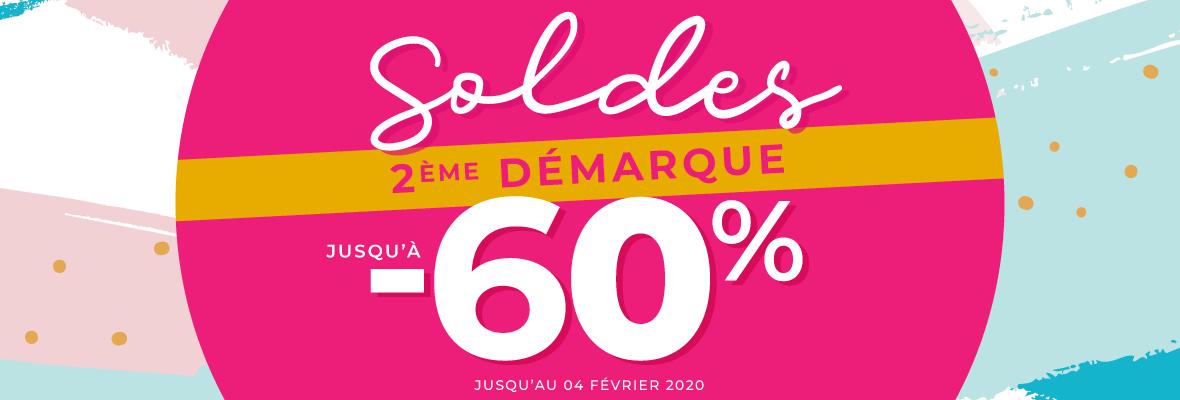 SOLDES D'HIVER - 2e Démarque