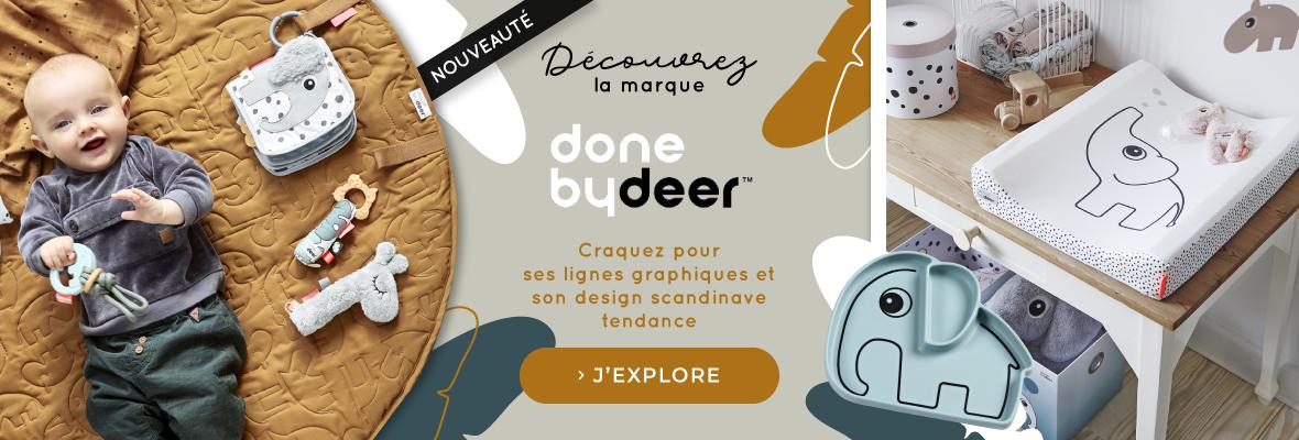 Découvrez la nouvelle marque Done by deer