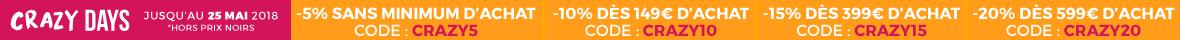 Jusqu'à 20% de remise supplémentaires !