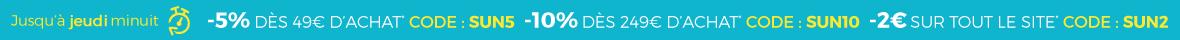 Jusqu'à 10% de remise !