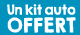 Un kit auto on the go offert !