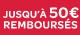 Jusqu'à 50€ remboursés chez Beaba !