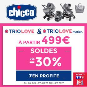 Le trio Love dès 499€ !
