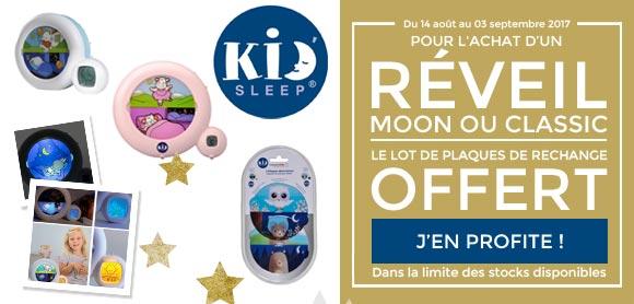 Un cadeau Kid sleep offert !