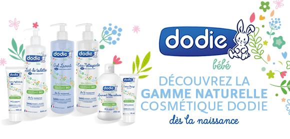 Nouvelle gamme naturelle cosmétique chez Dodie !