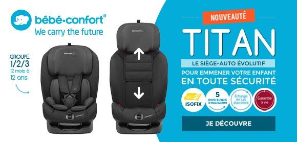 Nouveau siège auto 1/2/3 isofix !