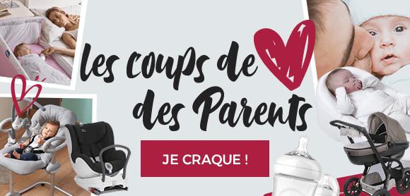 Les coups de cœur des parents