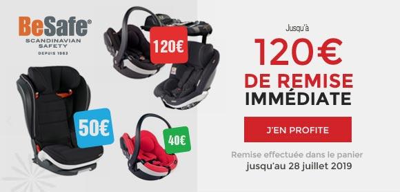 Jusqu'à 120€ de remise !