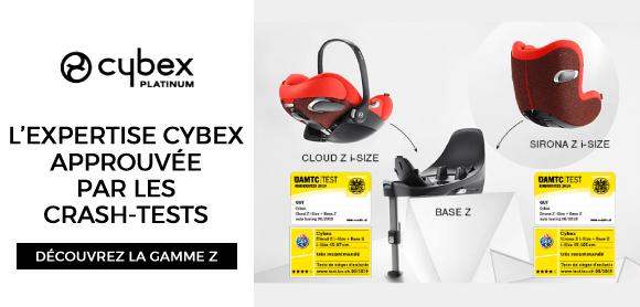 La Gamme Z de CYBEX : sécurité !
