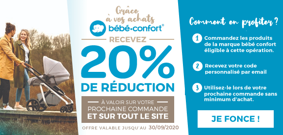 Bon de 20% Bébé Confort