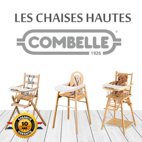 chaise haute b b combelle au meilleur prix sur allob b. Black Bedroom Furniture Sets. Home Design Ideas