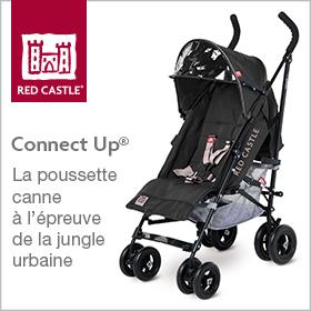 Red Castle Poussette Connectup
