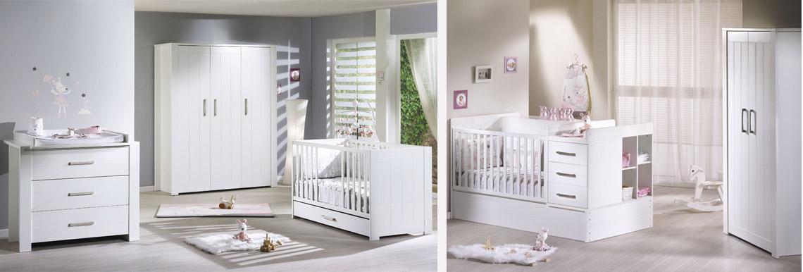 Deauville de sauthon meubles au meilleur prix sur allob b - Table a langer adaptable sur lit bebe ...
