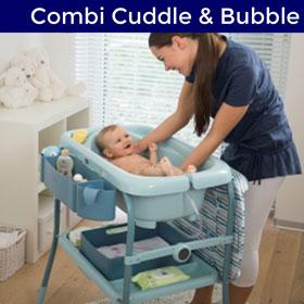Table à langer cuddle and bubble