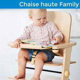 Chaise haute Family