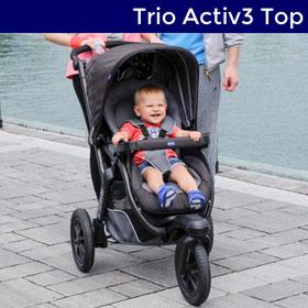 Poussette trio activ3