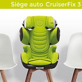 Siège auto cruiserfix 3