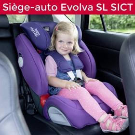 Siège auto evolva sl sict