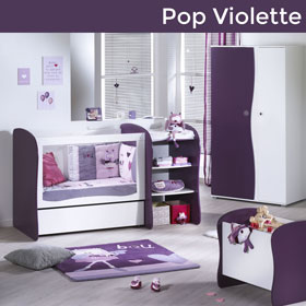 Pop violette