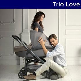 Poussette trio Love